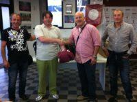 Solidarietà tra club: il Villa d'Adda regala cinque divise complete al Rovetta