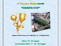 Brembate, il 16 maggio comincia l'Oriens Cup