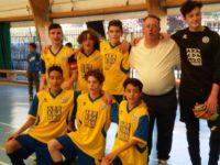 Calcio a 5, Giovanissimi. I galattici del San Paolo strapazzano la Forza e Coraggio