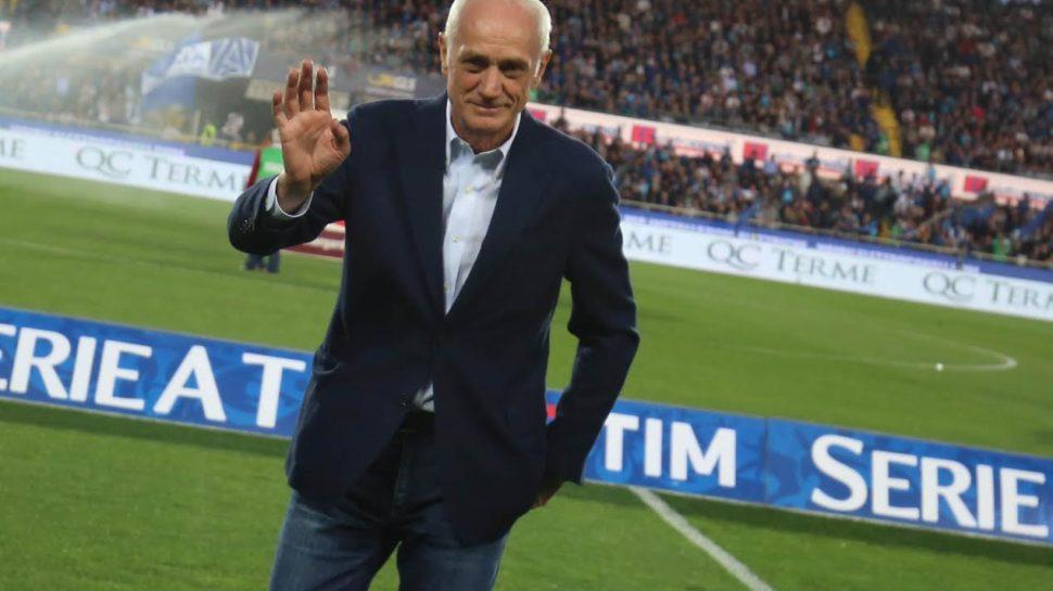 Multone a Percassi: contro il Verona proteste per il primo gol