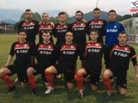Seconda. Forza Nuova Selvino. I mitici ragazzi di mister Carobbio si giocano la Coppa Lombardia contro La Sportiva. Serve a poco, i gialloblù sono infatti già in Prima!