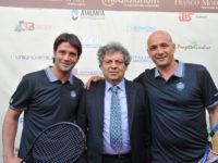 Tennis 2018, l'ex difensore dell'Inter di Mourinho, Cristian Chivu ha «debuttato» a Cividino
