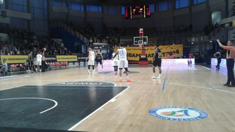 Bergamo Basket, contro Roma la seconda vittoria su tre