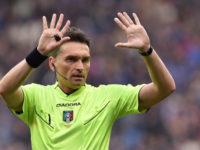 La squadra arbitrale per l'Atalanta col Torino: al Var, l'arbitro del sette a zero