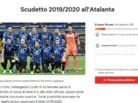 """""""Scudetto per l'Atalanta e per Bergamo"""". Spuntano comitato e petizione"""