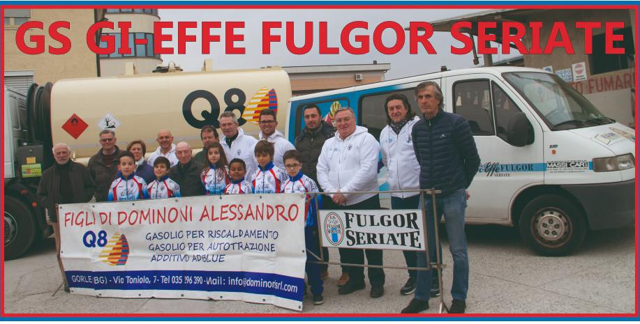 Gi-Effe Fulgor Seriate: riprende la tradizione del Memorial Bepi e Roby Donati