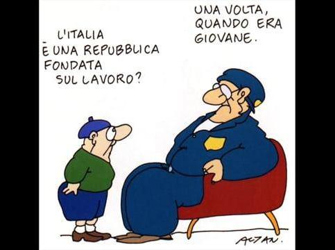 """L'Italia privilegiata dello """"smart working"""" e quella vessata dei """"Cipputi"""" che tutti i giorni vanno in officina"""