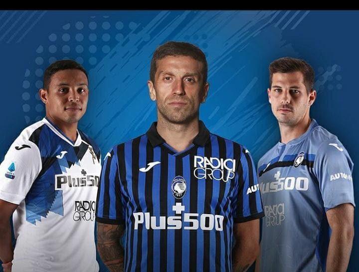 Dalla Joma, ecco le 3 maglie per campionato e Coppa Italia