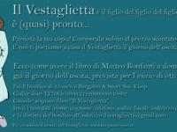 Il Vestaglietta, il libro di Matteo Bonfanti in uscita a inizio ottobre. Ci sono anche maglietta e portachiavi