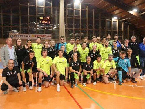 San Paolo d'Argon C5, che festa l'amichevole con le ragazze del Kick Off
