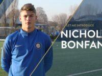 Nicholas Bonfanti, che favola! Dalla Virtus Bergamo all'Inter in Champions League