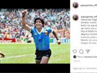 """Gomez: """"Con Maradona è morto anche il calcio"""". Il cordoglio nerazzurro"""