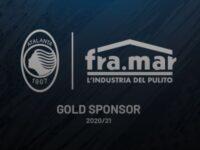 Fra.Mar ancora a braccetto con l'Atalanta: Gold Sponsor per 3 stagioni