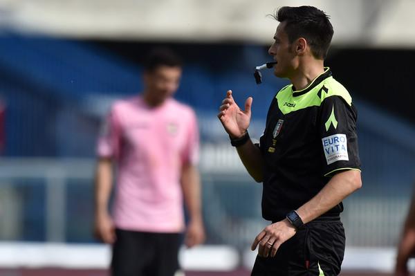 Mariani arbitra il big match col Milan. Senza precedenti diretti