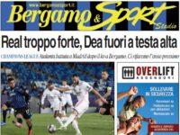 Tutto su Real-Atalanta 3-1: clicca qui per sfogliare la tua copia gratuita di Bergamo & Sport Stadio