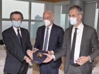 La Regione Lombardia premia l'Atalanta con la Rosa Camuna