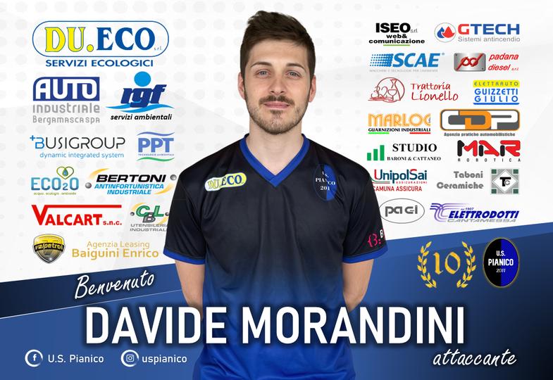 UFFICIALE – Il Pianico ha il suo bomber: ecco Davide Morandini