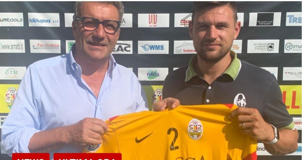 Serie D, c'è Fabio Adobati per la difesa del VillaValle