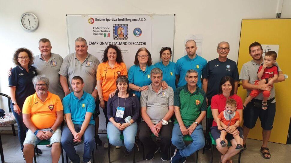 Ecco i risultati del Campionato Italiano Scacchi organizzato dall'Unione Sportiva Sordi Bergamo